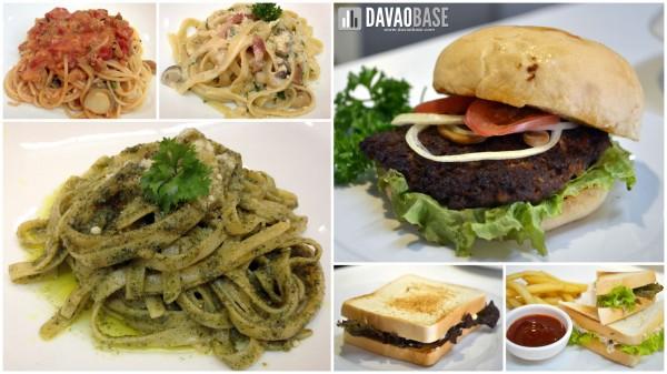 Diners Venue pasta sandwiches