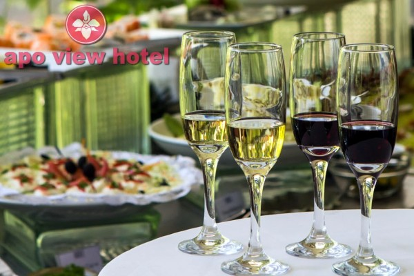 Entree Wine Quartet launched by Apo View Hotel (photo from the hotel press release)