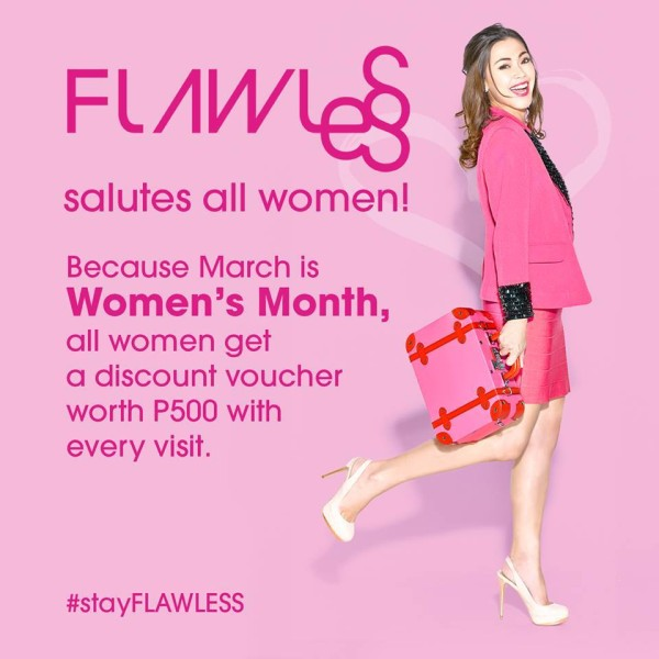 Flawless Women's Month promo