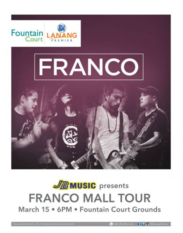 Franco mall tour