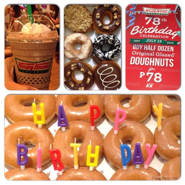 Happy 78th birthday, Krispy Kreme!