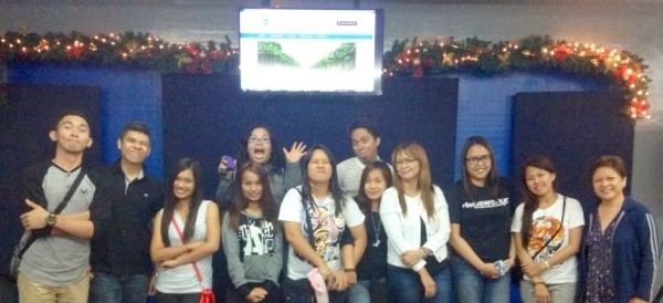 Blog Talk Tagum participants