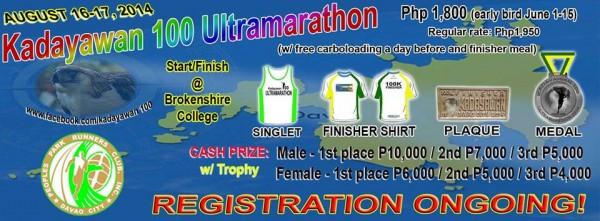 Kadayawan 100 Ultramarathon