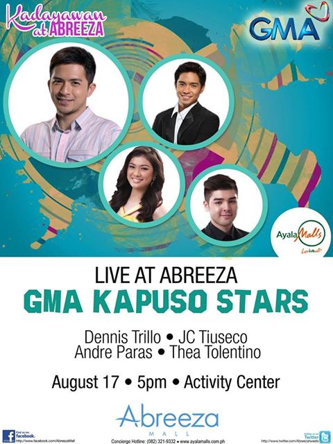 Kadayawan Abreeza celebrities