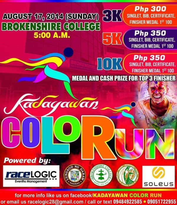 Kadayawan Color Run