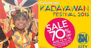 Kadayawan Sale SM City Davao