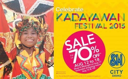 Kadayawan Sale SM City Davao
