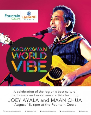 Kadayawan World Vibe at SM Lanang Premier