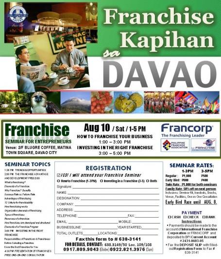 Franchise Kapihan sa Davao