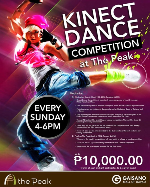Kinect Dance Contest
