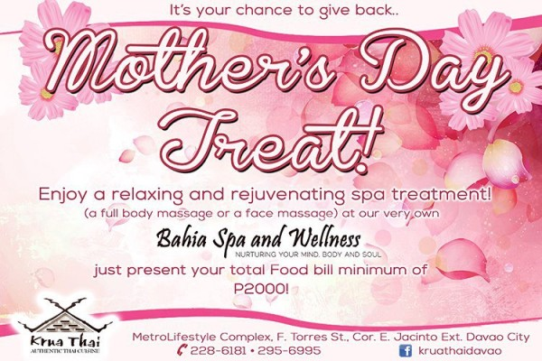 Krua Thai Mothers Day promo