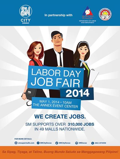 Labor Day Job Fair SM City Davao