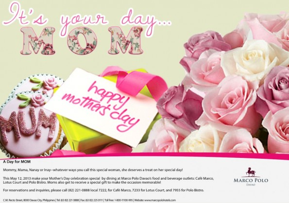 Marco Polo Mothers Day promo