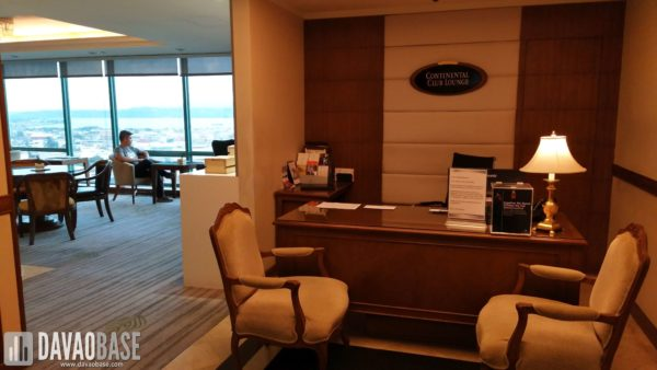 Marco Polo Davao Continental Club Lounge
