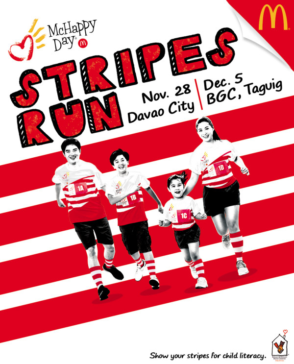 McHappy Day Stripes Run 2015