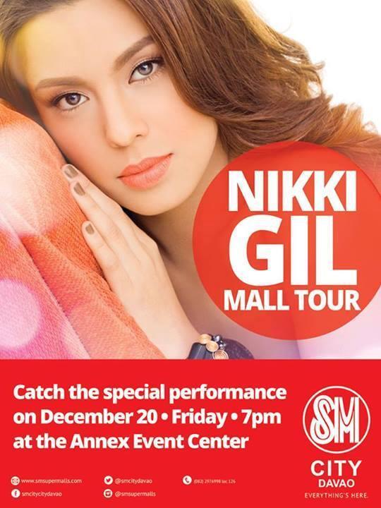 Nikki Gil in Davao