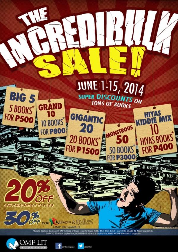 OMF IncrediBulk Sale