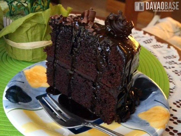 Chocolate Moist Cake (P75) at Cake Galerie