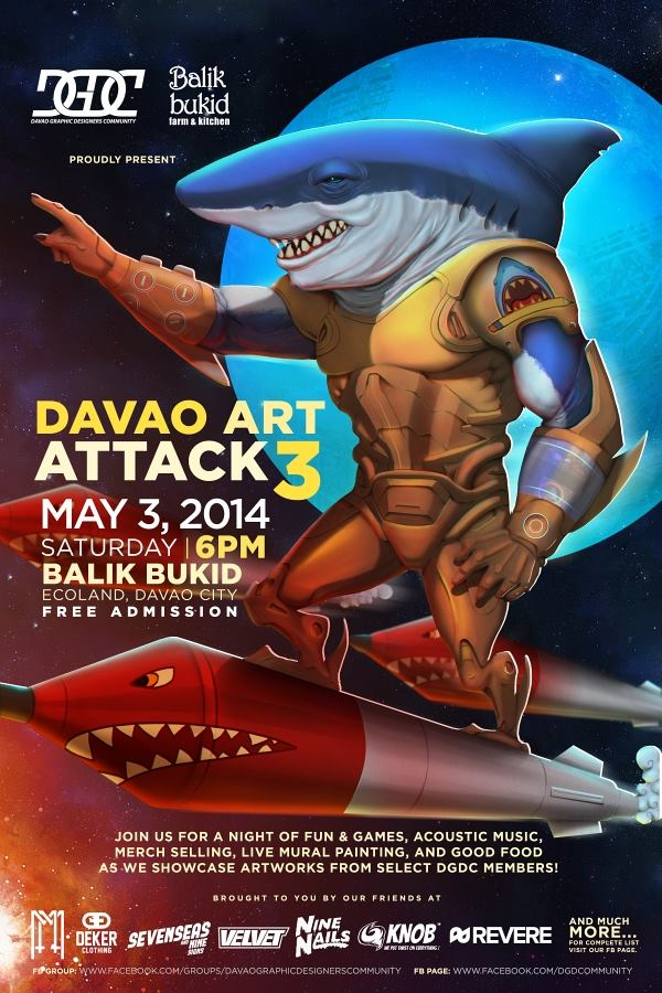 Davao Art Attack 3
