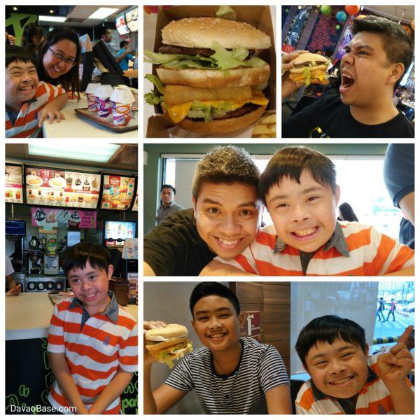 Little Joachim shares McDo Secret Menu burgers with the family!
