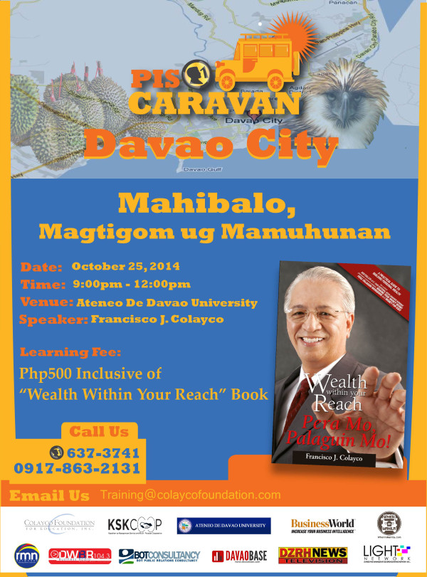 Piso Caravan in Davao City