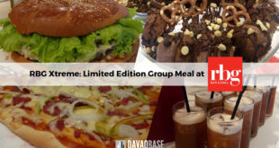 RBG xtreme meal group RBG bar and grill at Park Inn by Radisson Davao