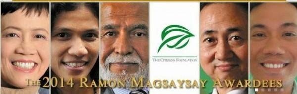 Ramon Magsaysay Awardees 2014