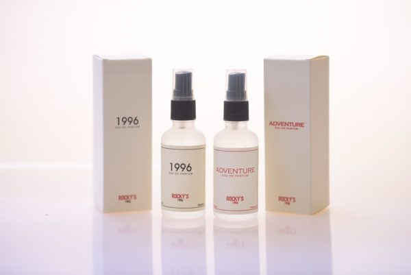 Rocky's Barbershop perfumes 1996 and Adventure