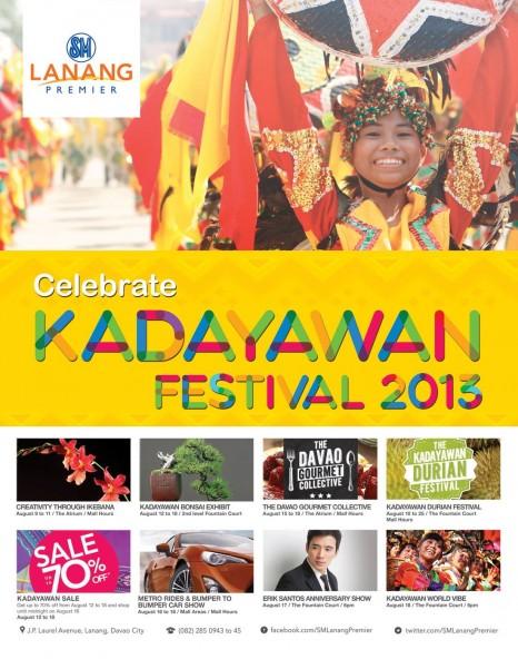 SM Lanang Kadayawan events