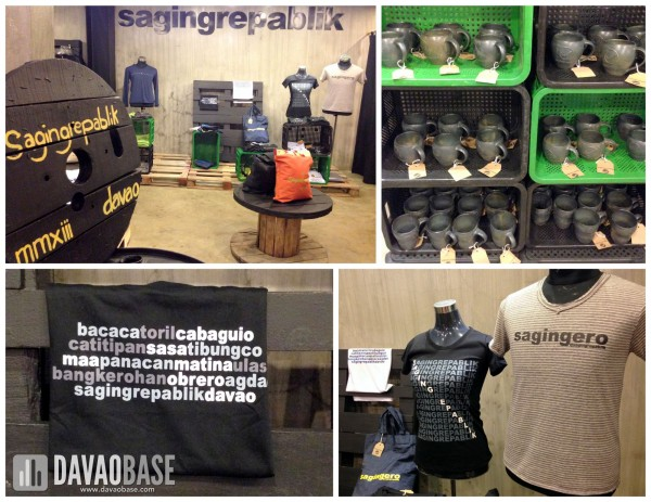 Saging Repablik merchandise