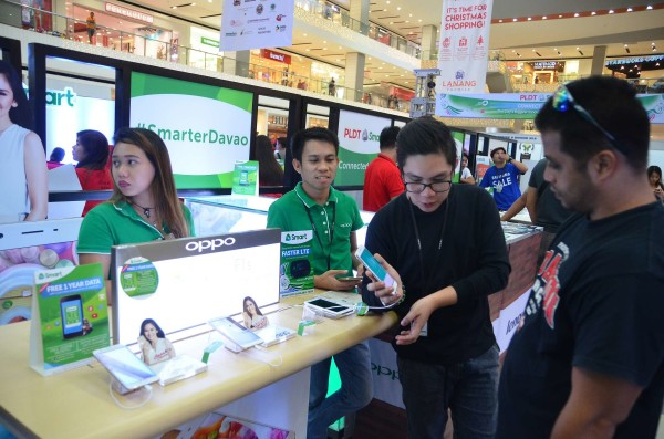 Smarter Davao LTE devices