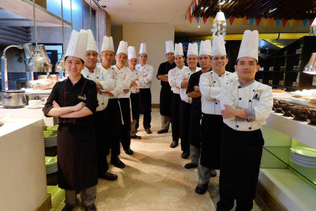 The chefs and staff at Cafe Marco are ready to serve Filipino dishes this week