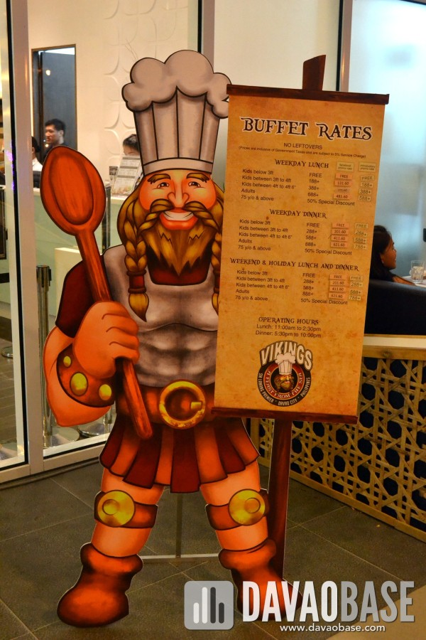Vikings Luxury Buffet Rates and Promos - DavaoBase