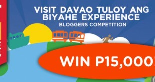 Visit Davao blog contest