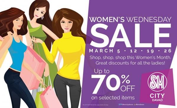 Women's Wednesday sale