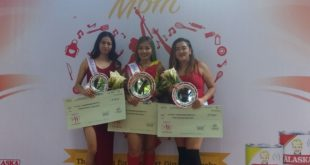 AlaskaMazing Mom Winners (left to right): 3rd placer Conchita Camporedondo, AlaskaMazing Mom of Davao Ailene Caracol, and 2nd placer Meriam Perez.