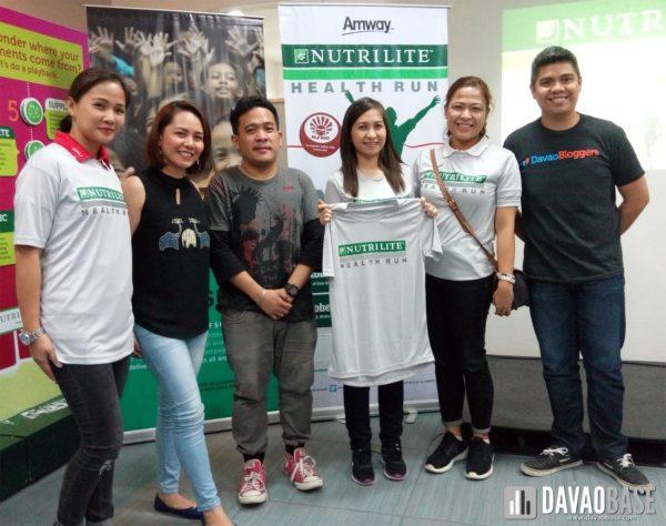 amway nutrilife health run 2017 with davao bloggers society