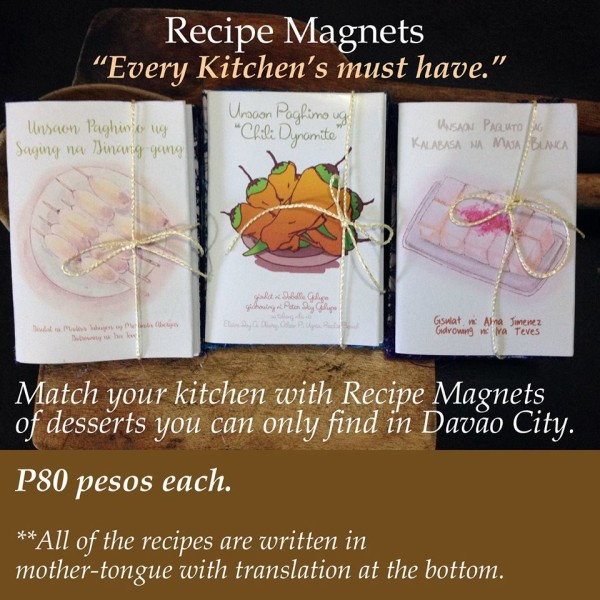 balud books recipe magnets