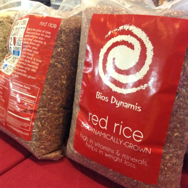 bios dynamis brown rice lanang weekend market