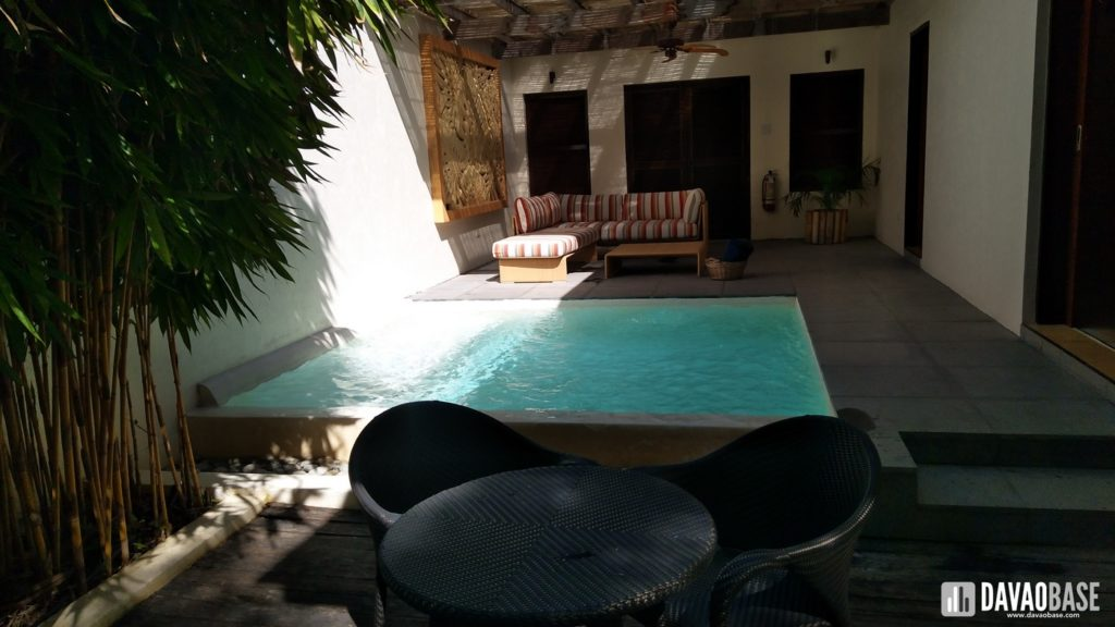 bluewater panglao one bedroom villa swimming pool