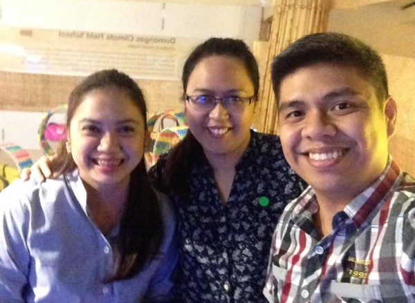 BPI-DOST Science Awards Batch 2001 recipients: Diane Faith Figueroa, Leah de Castro, and me!