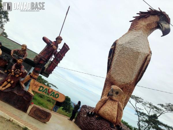 Buda eagle landmark