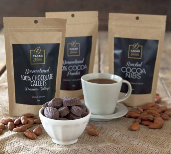 cacao de davao chocolate products (photo from Cacao de Davao)