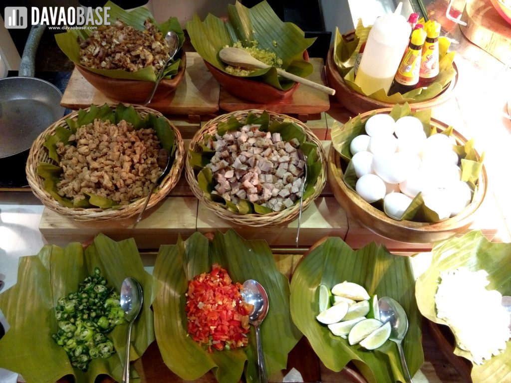 cafe marco pinoy dishes create your own sisig ingredients