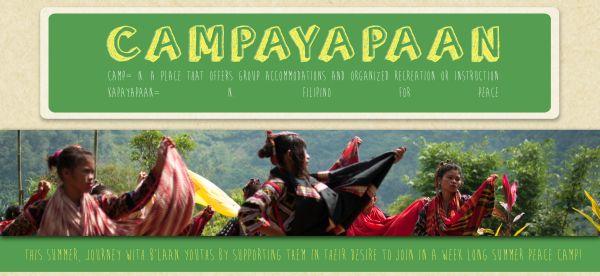 Campayapaan summer peace camp for B'laan students