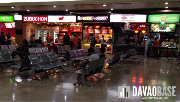 waiting lounge of Mactan-Cebu International Airport