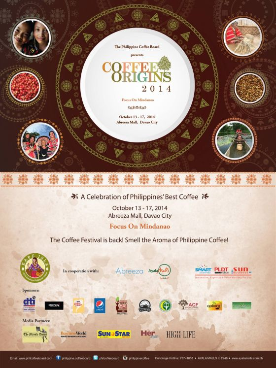 coffee origins 2014 abreeza mall october 13-17