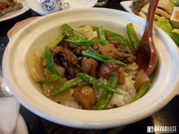 com tay cam ga at Hanoi Vietnamese Cuisine