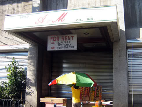 The old Davao A&M Store [source]