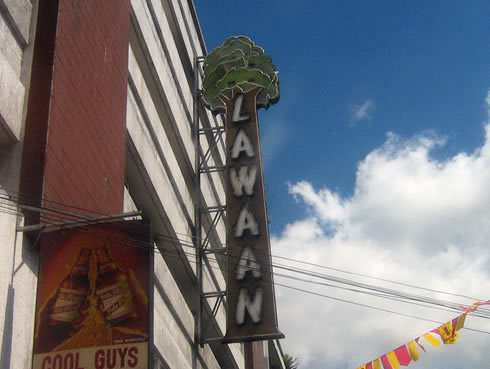Lawaan Theater in Davao was one of the standalone cinemas in the 80's